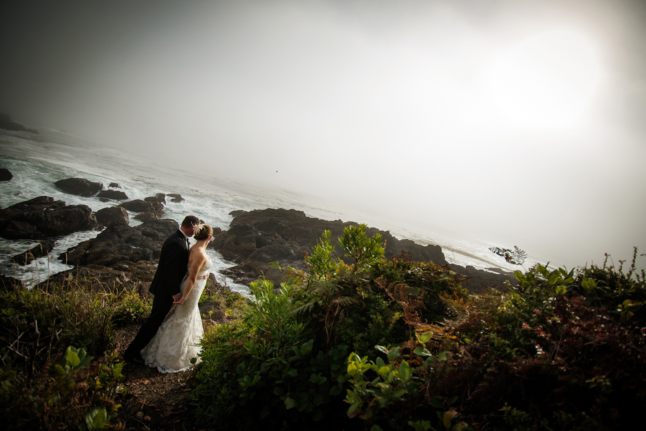 Black rock Resort Weddings Ucluelet Bc photographers