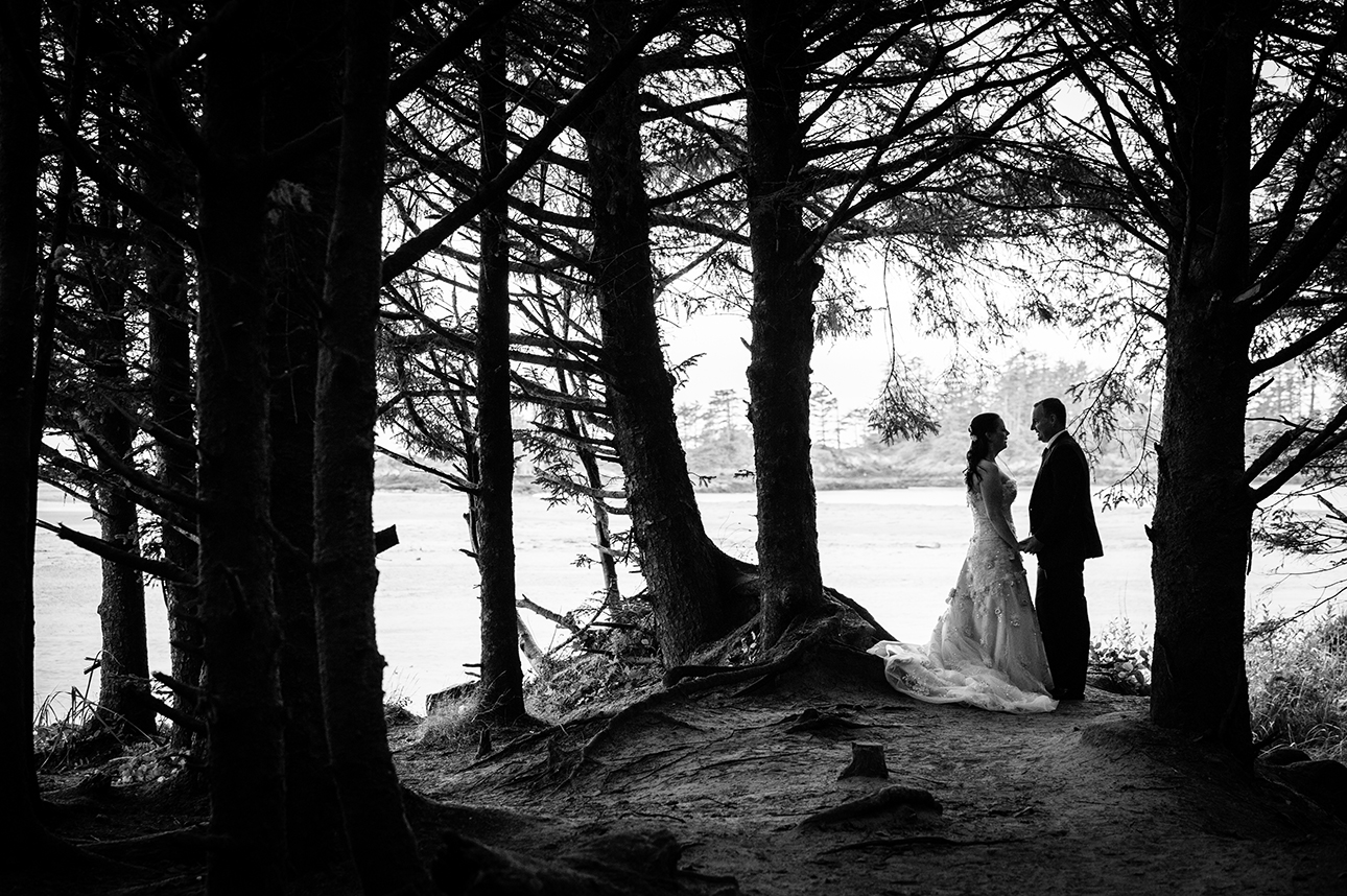 Long Beach Lodge weddings Tofino long beach BC