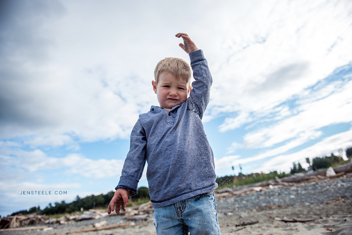Family Portrait Photography on Vancouver island Canada