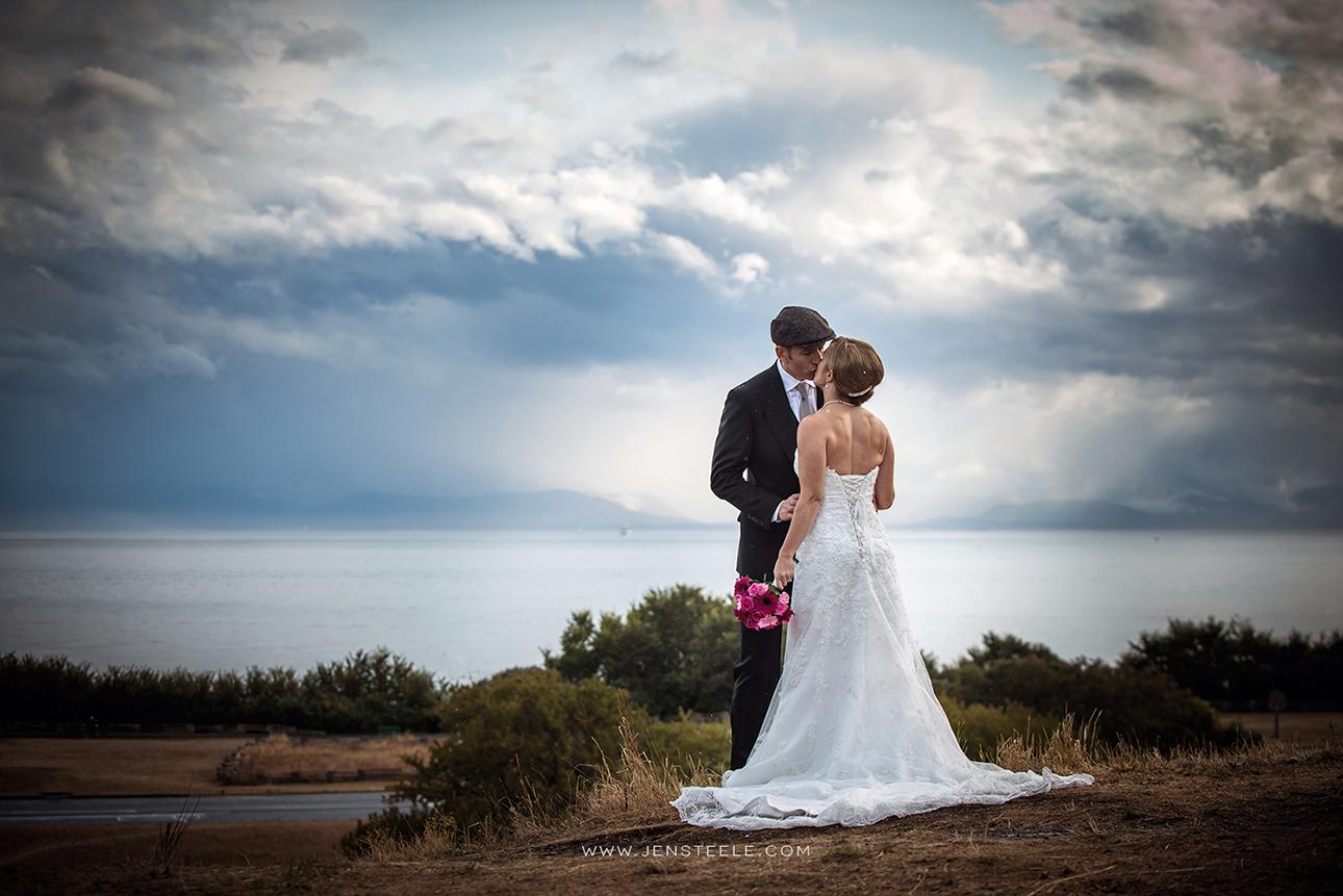 Victoria BC wedding photographers Royal Victoria Golf Course